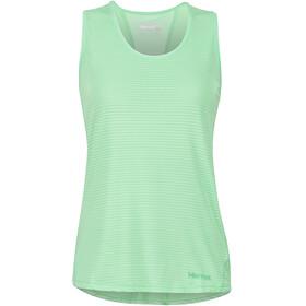Marmot Aero Naiset Hihaton paita , vihreä